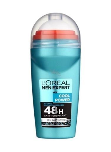 L'Oréal Paris L'Oréal Paris Men Expert Cool Power Antı Perspırant Roll On 50ml Renksiz